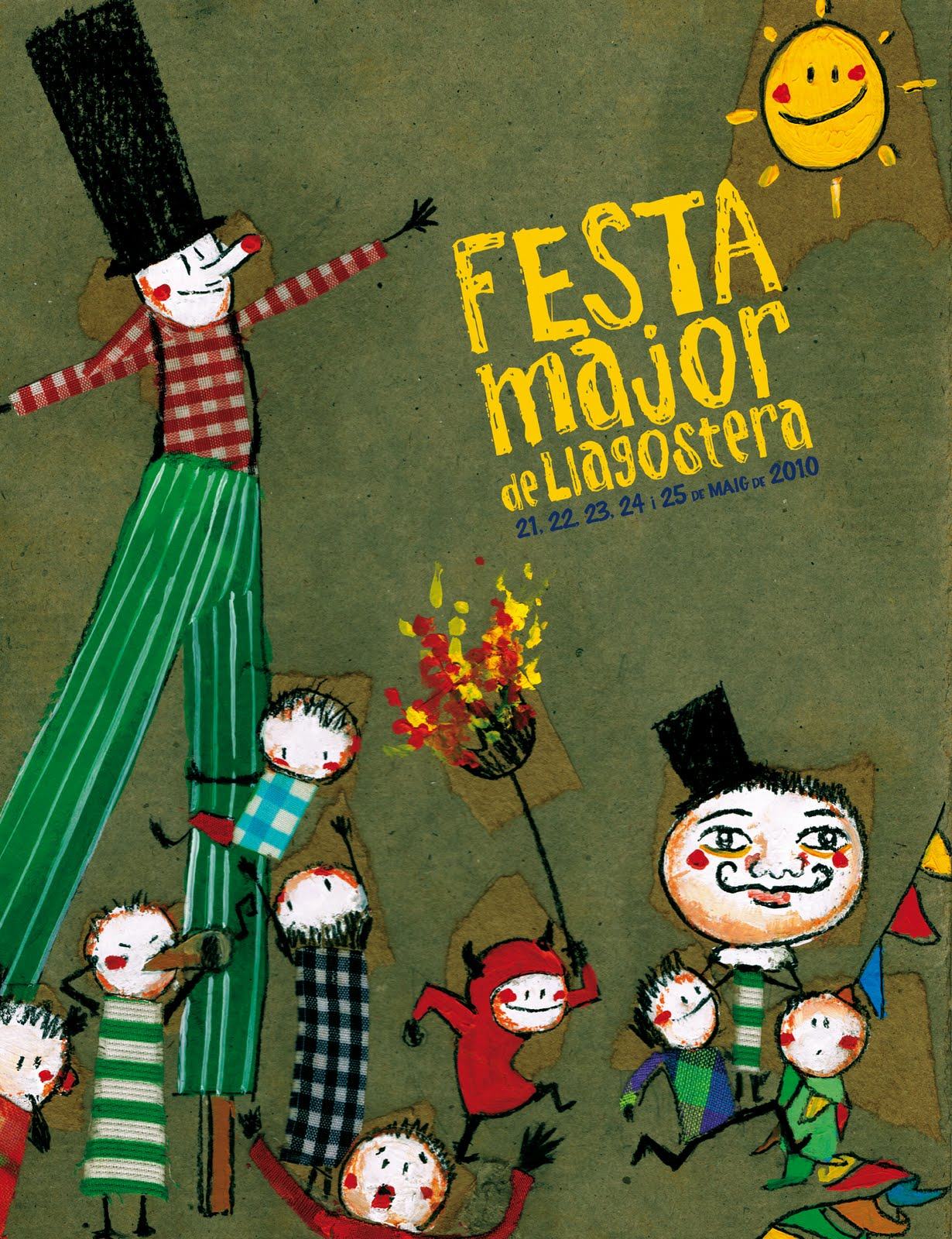Fiesta mayor de Llagostera 2010