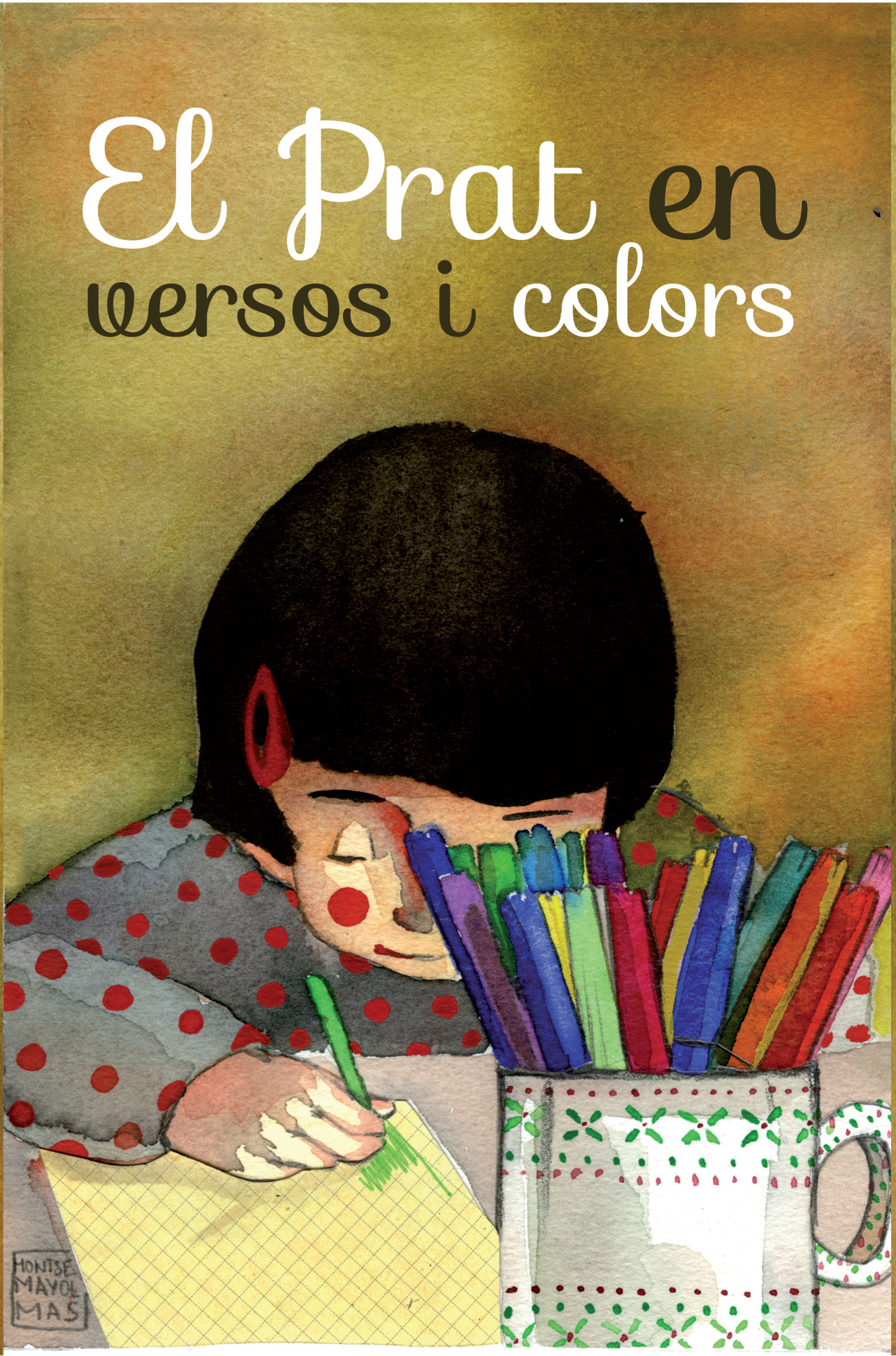 "Book cover "" El Prat en versos i colors"